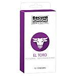 Secura - El Toro Kondomi, 12 kpl
