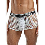 Male Power - Peep Show Mini Short, white