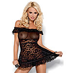 Obsessive - Flores Babydoll & string
