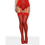 Obsessive - Red sexy stockings