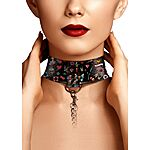 Ouch - Old School Tattoo Collar with Leash