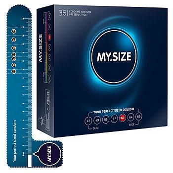 My.Size - 60 mm Kondomi, 36 kpl
