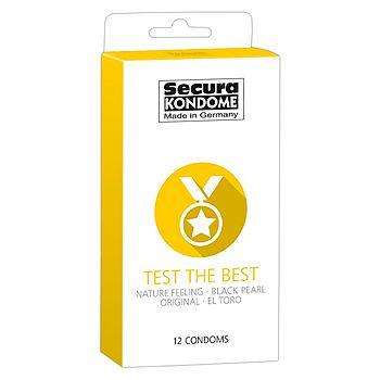 Secura - Test the Best Kondomi, 12 kpl