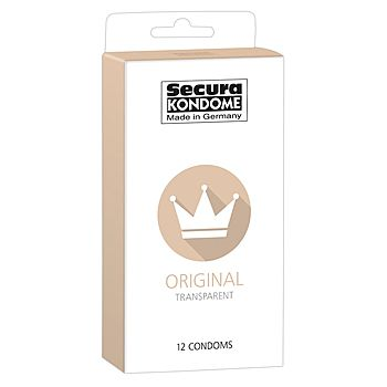 Secura - Original Kondomi, 12 kpl