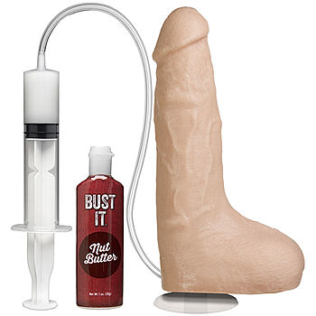 BUST IT - Squirting Realistic Cock