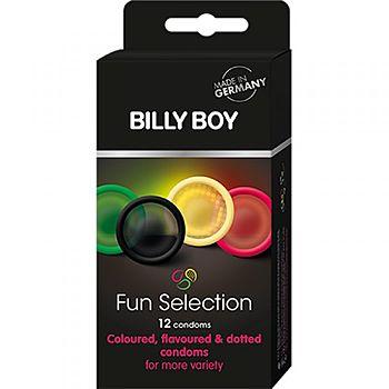 Billy Boy - Fun Selection Kondomi, 12 kpl