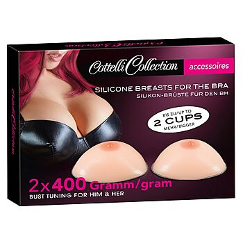 Cottelli Collection - Silicone Breasts
