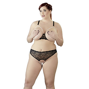 Cottelli Collection - Pearl alusasusetti, Plus Size