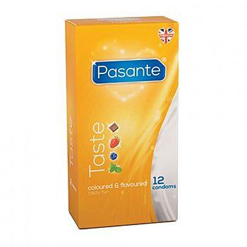 Pasante - Taste Kondomi, 12 kpl