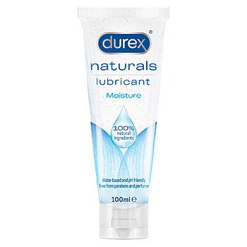 Durex - Naturals Moisture liukuvoide, 100 ml