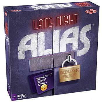 Late Night Alias -seksipelissä on aikuisten tuhmat sanaleikit