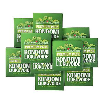 Kaalimato - Kondomi + Liukuvoide, 10 kpl