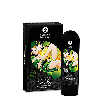Shunga - Lotus Noir Sensitizing Gel, 60 ml