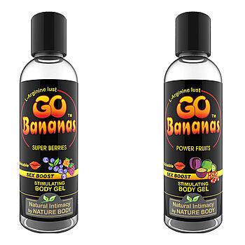 Go Bananas, stimuloiva liukuvoide, 100 ml