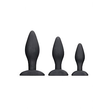 Ouch - Silicone Apex Butt Plug Set