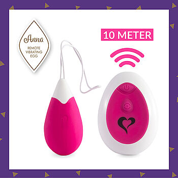 FeelzToys - Anna Vibrating Egg
