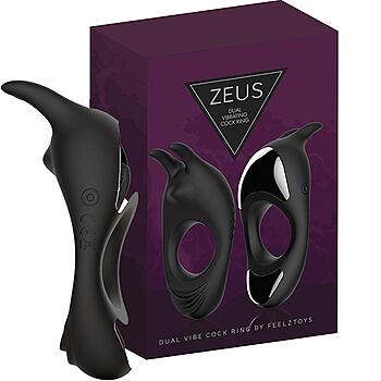FeelzToys - Zeus Dual Vibrating Cockring