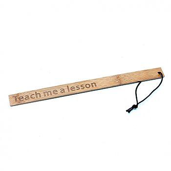 Rimba - Bamboo Ruler, Teach me a lesson