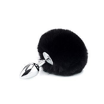 ZENN - Deluxe fluffy bunny tail plug