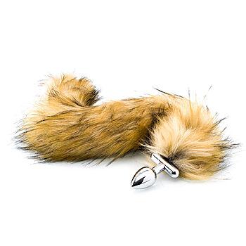 ZENN - Deluxe fluffy bunny tail plug, long