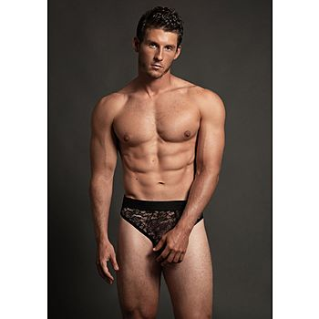Allure - Men's lace briefs