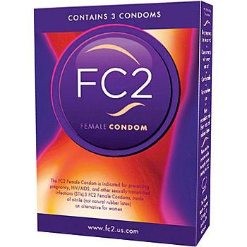 FC2 Naisten Kondomi, 3 kpl