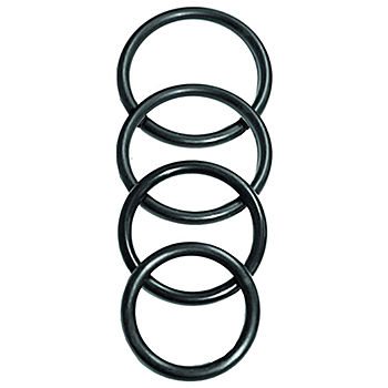 Rubber O-Ring, 4 Pack