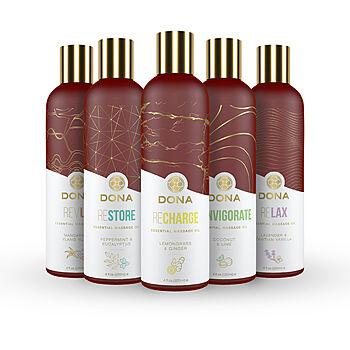 DONA Vegan - Essential Massage Oil, 120 ml