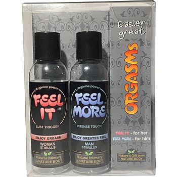 Orgasms Gift Box, 2 x 75 ml