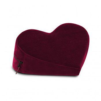 Liberator - Heart Wedge, viininpunainen