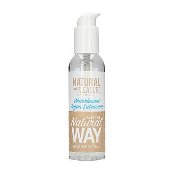 Natural Pleasure - Vegan Waterbased Lubricant, 120 ml