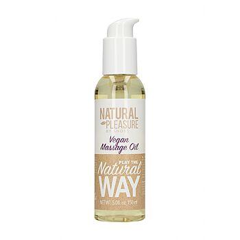 Natural Pleasure - Vegan Massage Oil, 150 ml