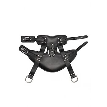 PAIN - Leather suspension cuffs for ankles
