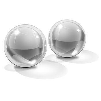 Icicles - No 42 Ben-Wa Balls, Medium