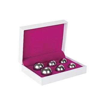 Ben Wa Balls - 3 weights, Silver