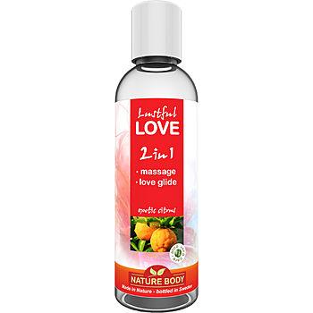 Lustful Love, 2 in 1 hierontaliukaste, 100 ml