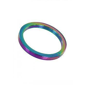 Rainbow Flat Cock Ring