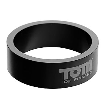 Tom Of Finland - Aluminum Cock Ring, 50mm