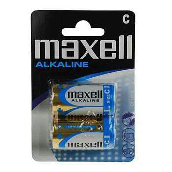 Maxell - Alkaliparisto, C